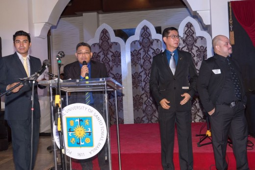 Officers of TAO, Bro. Drs. Rollo Milante, President & Erbe Bugay, Treasurer