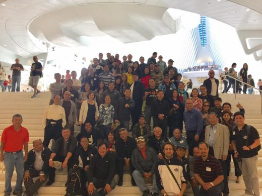 Tauans at the Oculus, World Trade Center, PATH STATION