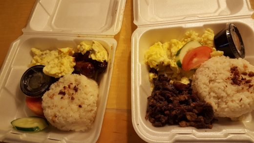 Packed breakfast care of Dr. Grace Ponce and Bro. Bernie Ponce
